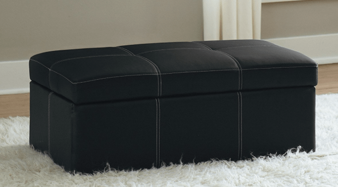 Walmart.com Has This Rectangular Storage Ottoman Bench For Just $26.67 When  You Choose Free In Store Pickup! Here Are A Few Product Features: