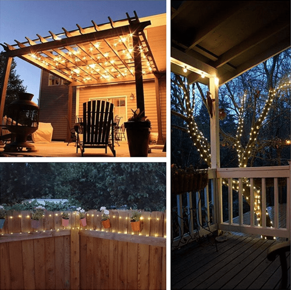 Solar Powered 20-Foot Indoor/Outdoor String Lights $7.96 (Regularly ...