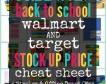 Free Back To School Cheat Sheet 2017 (Just Updated!)