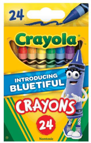 Walmart com | Crayola 24-Ct Crayons & Notebooks 50¢!