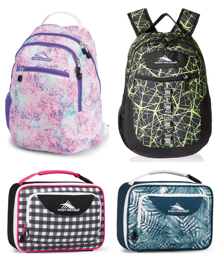 53ee2d8ac56c Don t forget you can also score High Sierra Backpacks for as low as  15.99  shipped! Plus lunch packs for  7.99 after savings and lunch kits for  9.99.