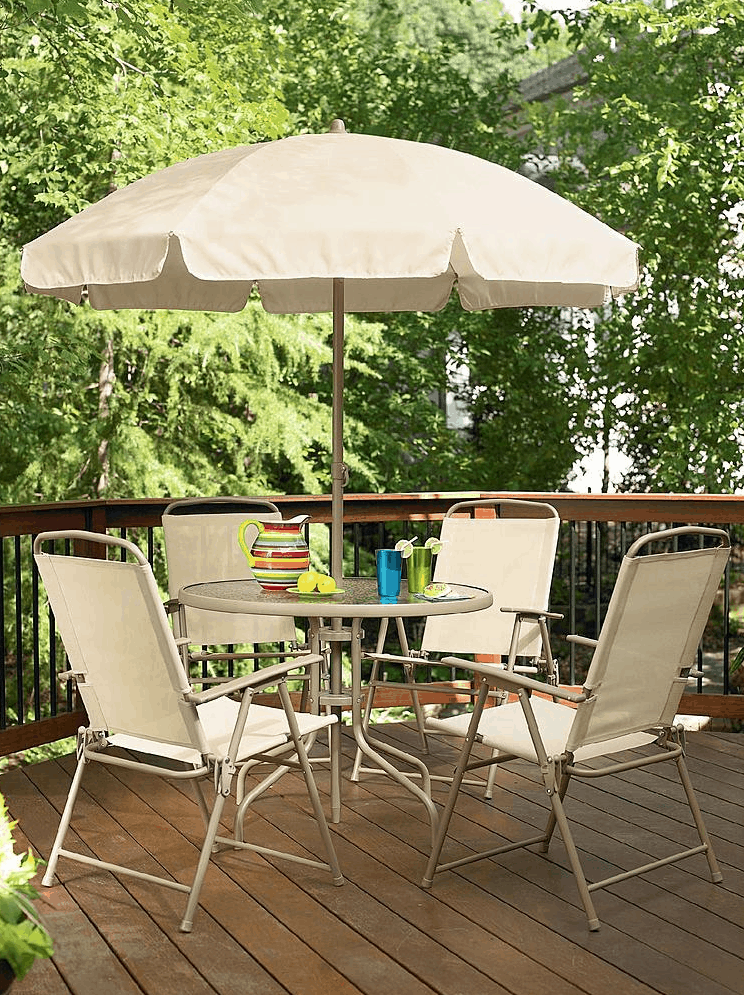 Wonderful Right Now You Can Get This Essential Garden Folding 6 Piece Patio Set For  $90 From Kmart! Choose Free In Store Pickup If Available Near You.