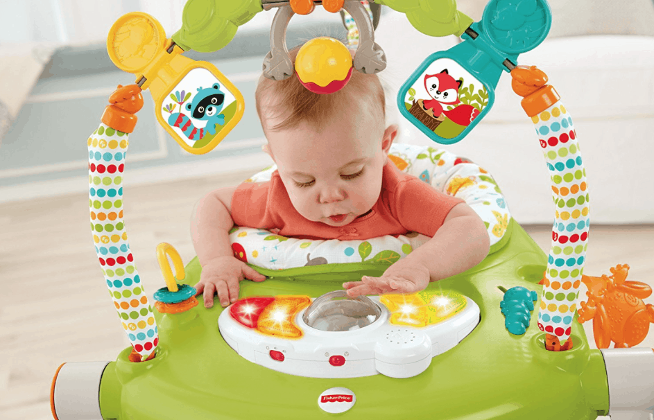c43ec9db2e94 Fisher-Price Woodland Friends SpaceSaver Jumperoo  31.79 (Lowest Price)