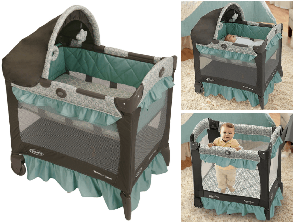 Remember that pricing on Amazon is subject to change at any time. clicktosave. Amazon just dropped the price on this Graco Pack u0027n Play ...  sc 1 st  Passionate Penny Pincher & Graco Pack u0027n Play Travel Lite Crib Playard $62.39 | Passionate ...