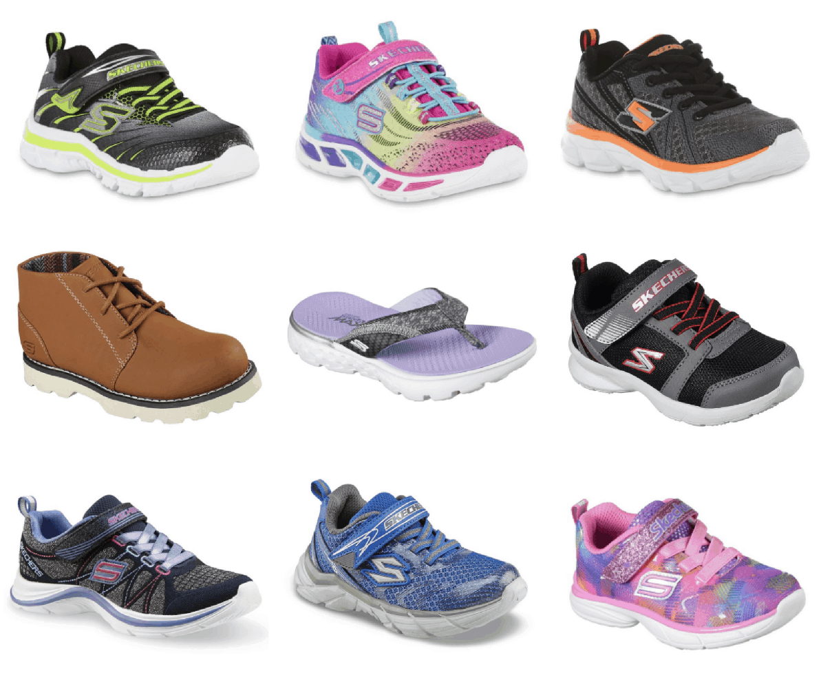 3b5097c2f5ed Sears is offering some great deals on kids  Skechers shoes today! There are  a bunch of options as low as  14.99