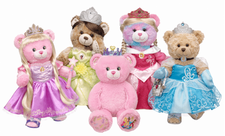 6d6302d2808 Build-A-Bear  Up to 60% Off Disney Bears
