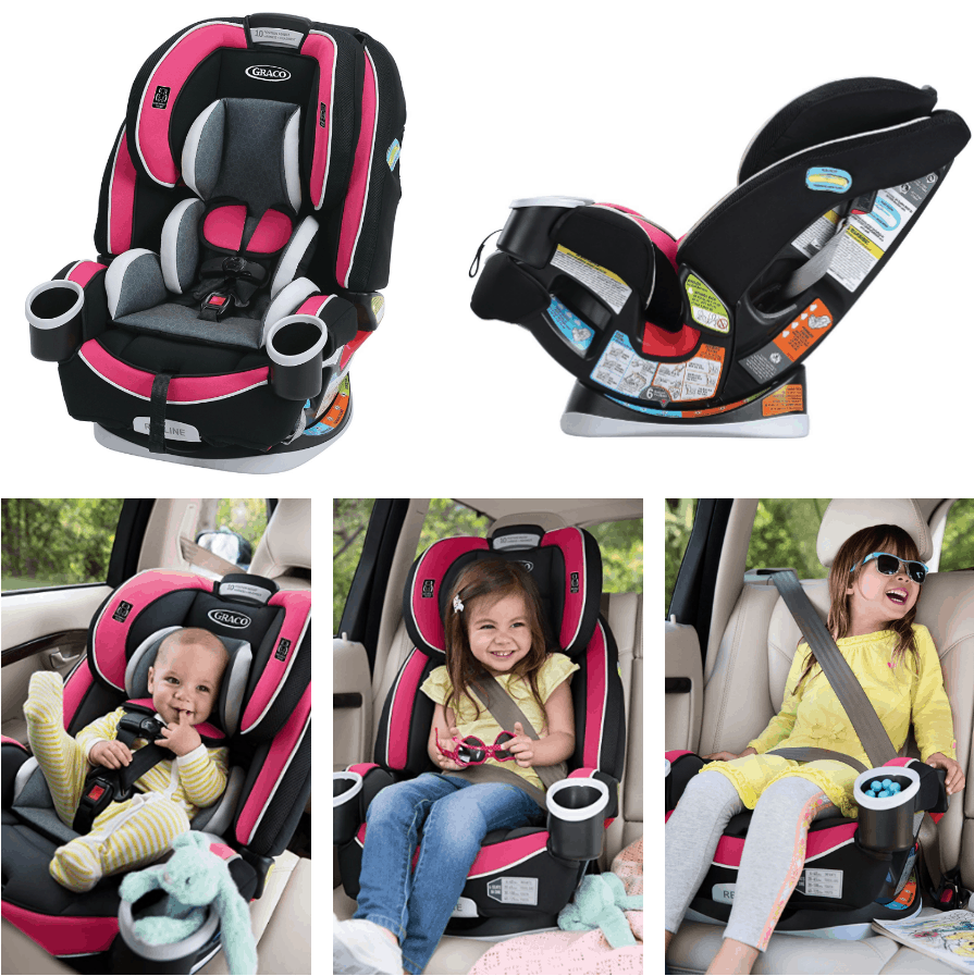 5054049356020 Graco 4Ever All-in-One Convertible Car Seat – Under  200 (Regularly  299.99)