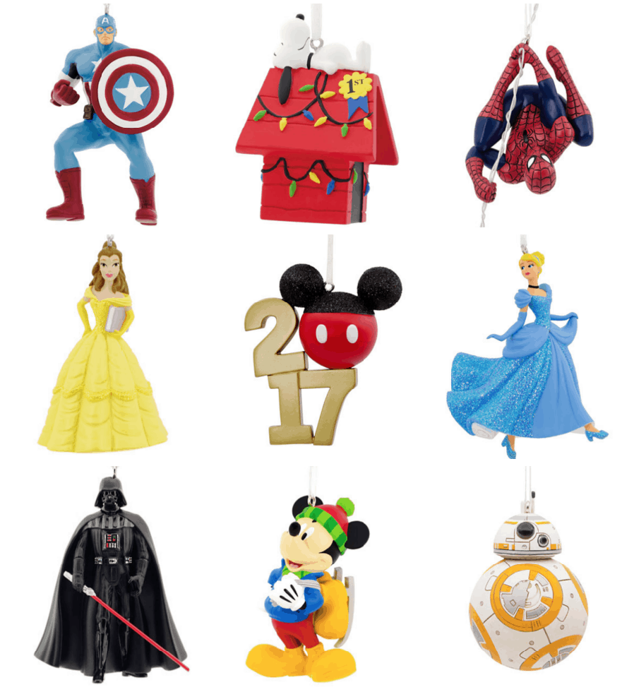 today only you can use the code 48goshop to get select hallmark christmas ornaments for just 599 these are regularly 17 so thats a great price