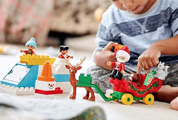 Calendrier Avent Duplo.Lego Duplo Town Santa S Winter Holiday Set Price Drop