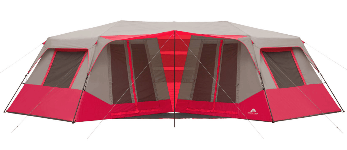 Walmart.com is offering a great deal on this Ozark Trail 10-Person Instant Double Villa Cabin Tent right now u2013 get it for only $114.97!  sc 1 st  Passionate Penny Pincher & Ozark Trail 10-Person Instant Double Villa Cabin Tent $114.97 ...