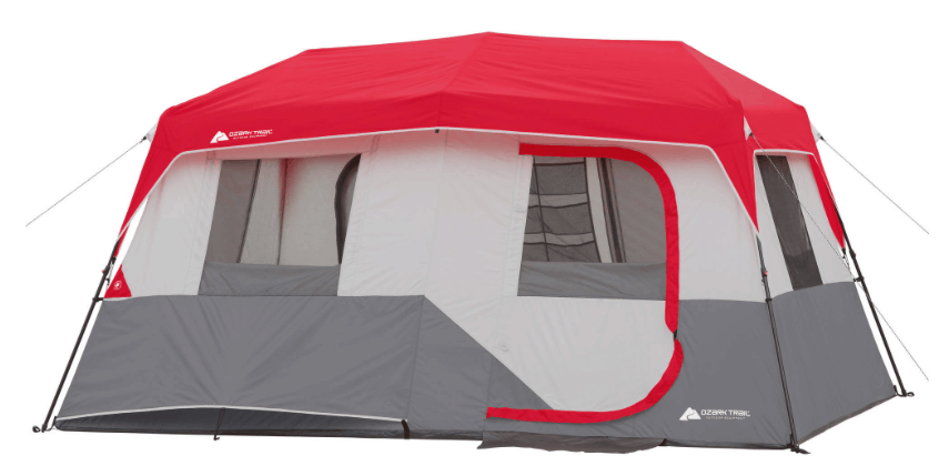 This Ozark Trail 8-Person Instant Cabin Tent right now u2013 get it for only $99! It is regularly priced at $150 so thatu0027s a great deal.  sc 1 st  Passionate Penny Pincher & Ozark Trail 10-Person Instant Double Villa Cabin Tent $114.97 ...