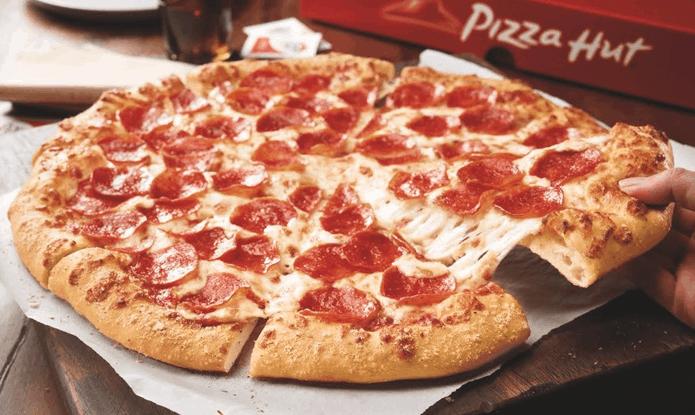 medium pizza hut pizza just 1 920