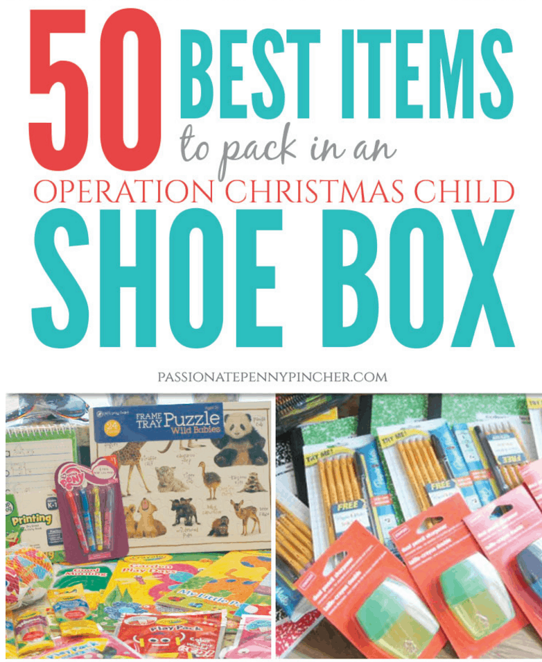 Operation Christmas Child Shoebox Ideas