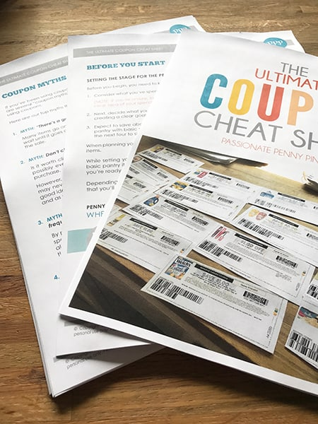 The Ultimate Coupon Cheat Sheet