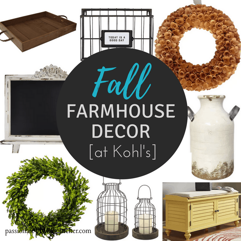 Fall Farmhouse Decor At Kohl's Up To 70% OFF!