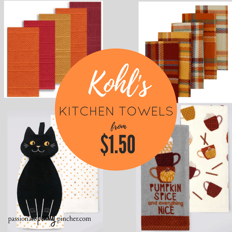 Kohl S Fall Kitchen Towels From 1 51 Shipped Ends Sunday