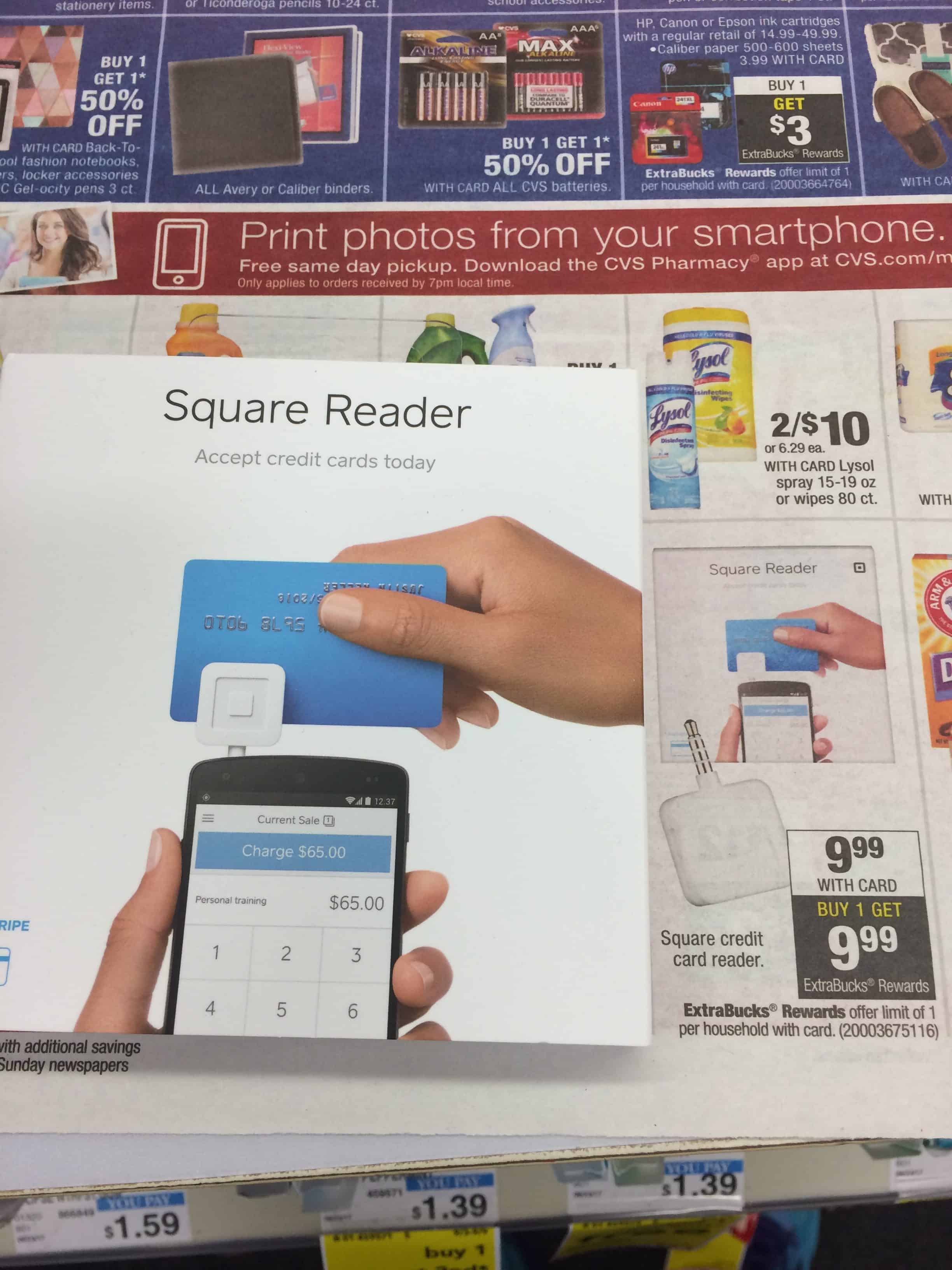 free credit card reader  no coupon required