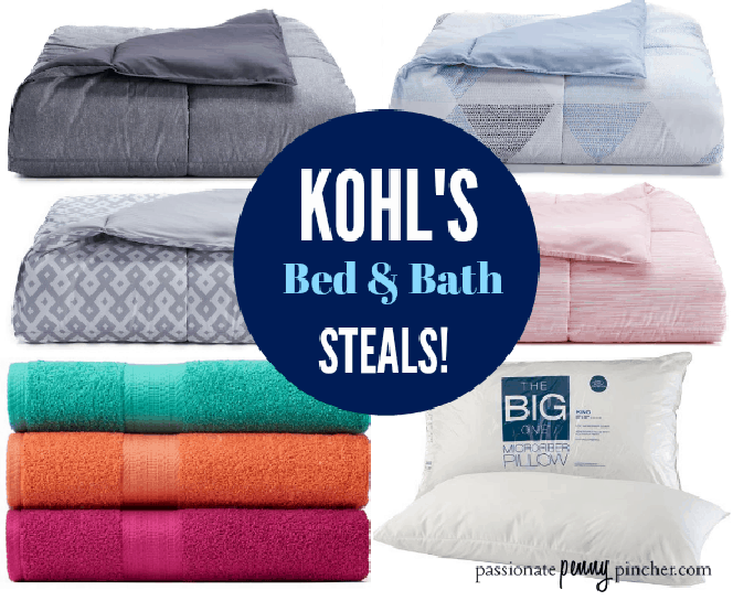 Kohl\'s Bed & Bath Steals! (Big One Pillows, Towels & Bedding ...