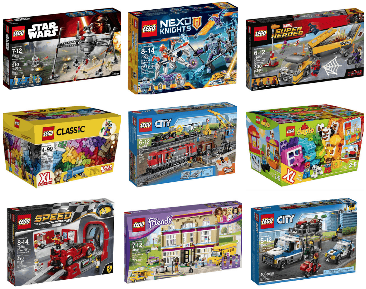 toysrus is offering 30 off select lego sets right now this makes for some great deals plus shipping is free on orders over 29