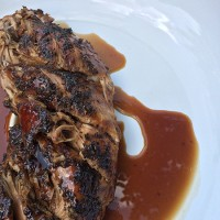Crock-tober Day 6 - Slow Cooker Brown Sugar Balsamic Glazed Pork Loin