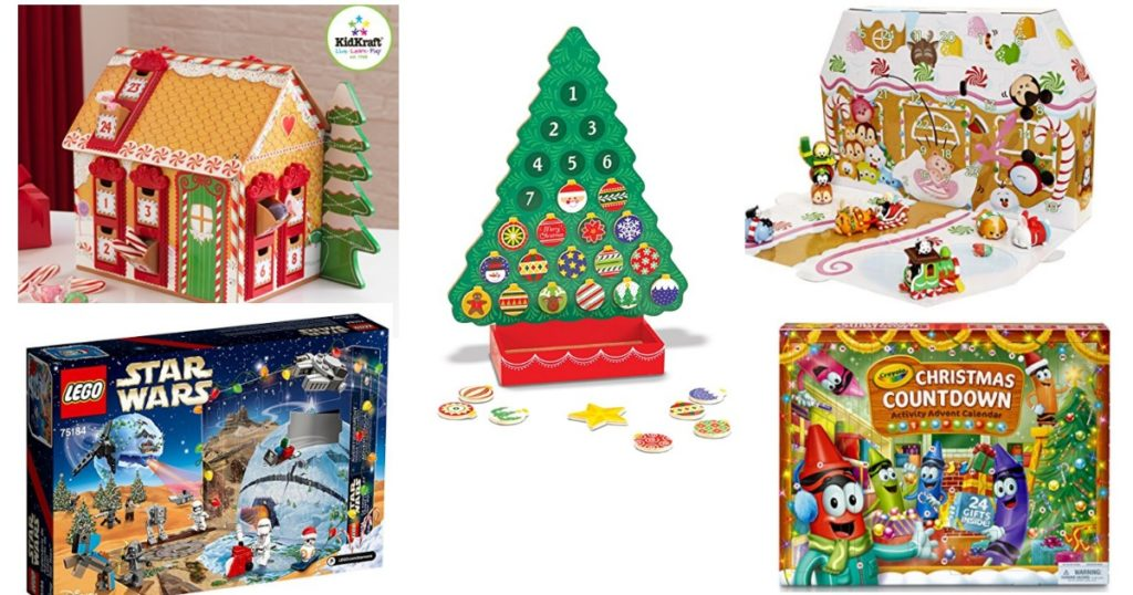 10 CUTE Kids Advent Calendars! | Passionate Penny Pincher