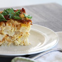 Crock-tober Day 10 - Slow Cooker Breakfast Casserole