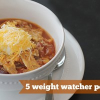 Crock-tober Day 7 - Slow Cooker Chicken Taco Chili + Stitch Fix Box Opening!