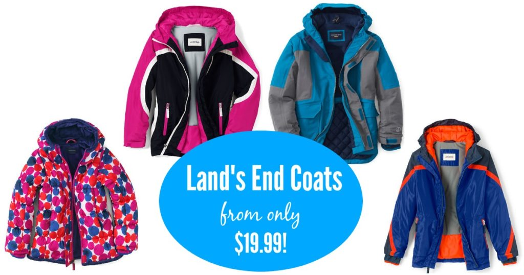 39af4a84c Lands End Kids Coats only $19.99!