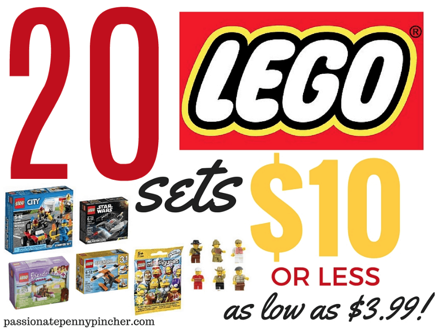 HOT* Deal: Lego MiniFigures
