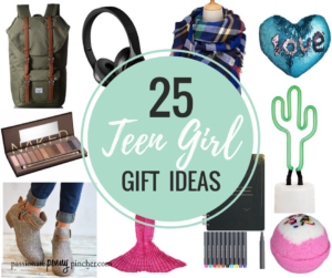 25 Holiday Gift Ideas For Teenage Girls