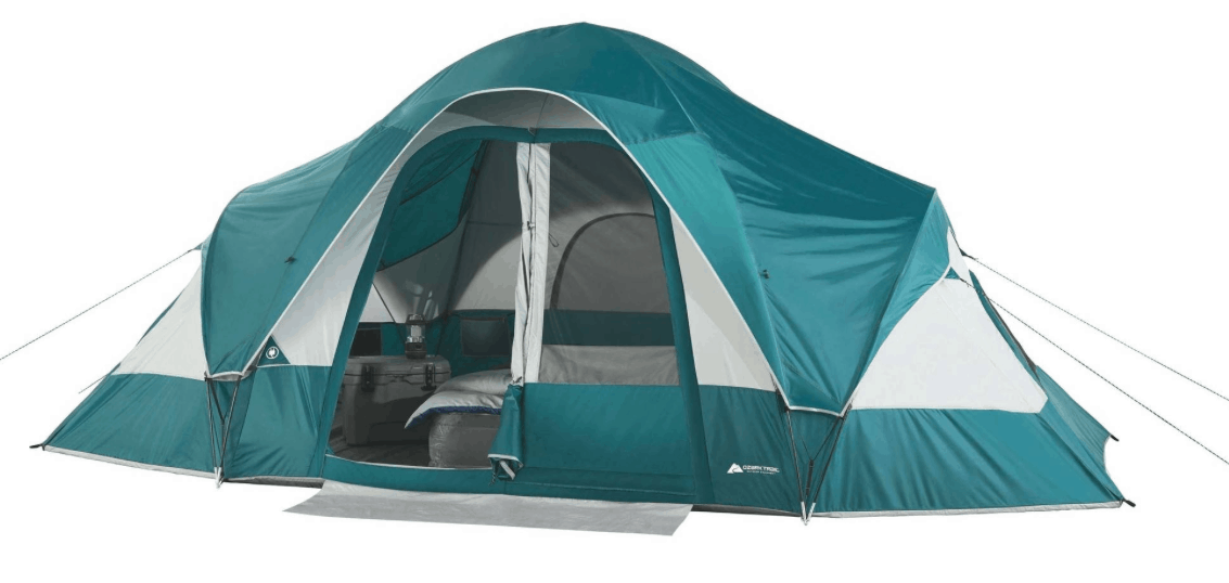 Ozark Trail 8-Person Family Tent for $80  sc 1 st  Passionate Penny Pincher & Ozark Trail 10-Person 3-Room Cabin Tent $89 (Regularly $139 ...