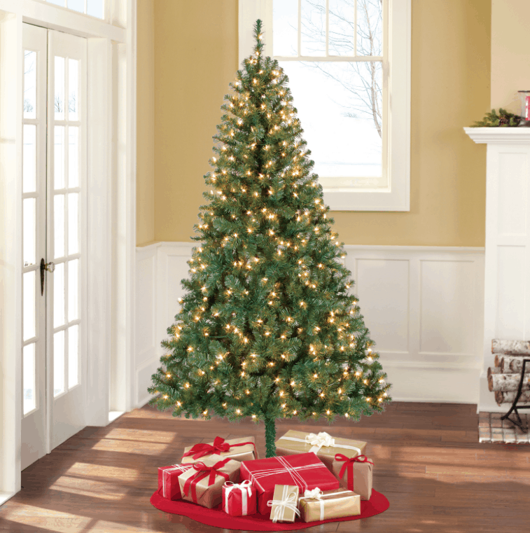 Looking to grab a pre-lit Christmas tree? Walmart.com has this Pre-Lit 6.5′  Madison Pine Green Artificial Christmas Tree for $39 right now! - Pre-Lit 6.5' Artificial Christmas Tree $39, Shipped! Passionate