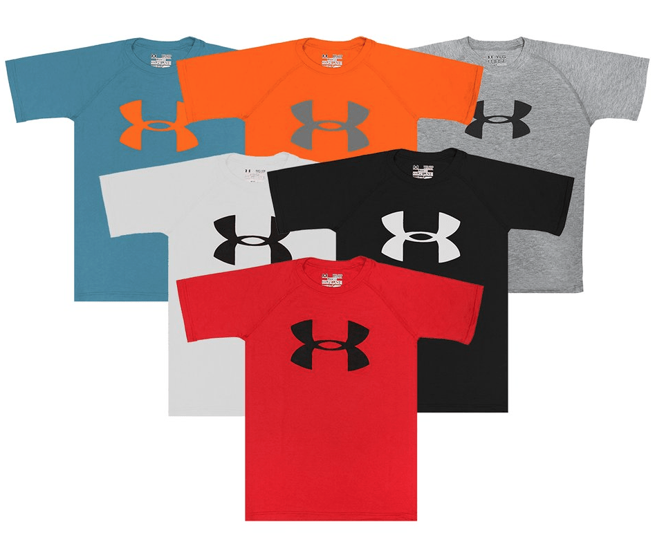Under armour clothing and shoes up to 25 off today only you can also get this boys under armour fitness t shirts 3 park for 30 with the coupon code pzy30 at checkout fandeluxe Choice Image