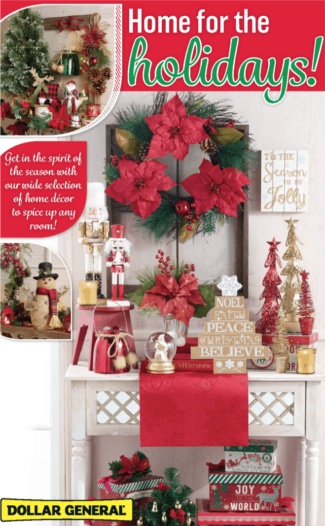 dollar general holiday book 2017 - Dollar General Christmas Decorations