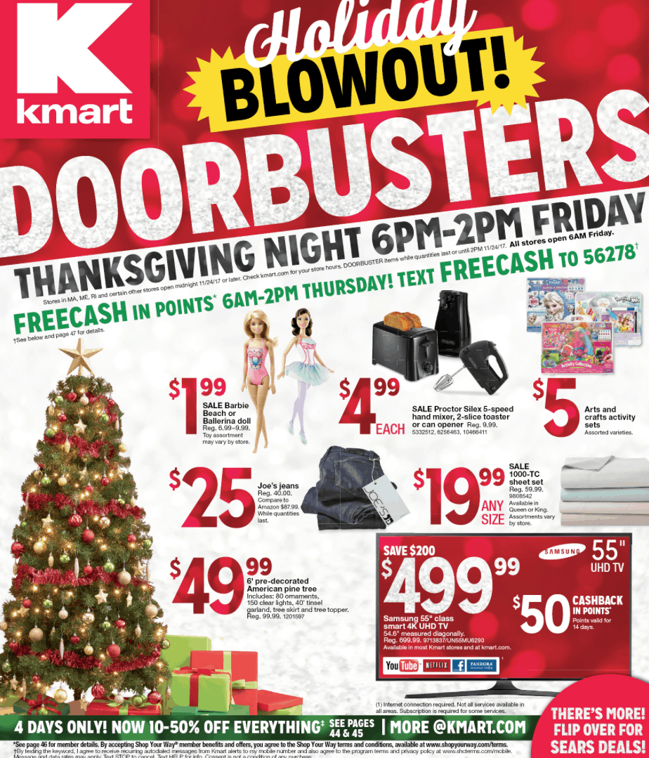 Hurry over HERE to check out the Kmart Doorbusters Black Friday Ad preview 2017!  sc 1 st  Passionate Penny Pincher & Kmart Doorbusters Black Friday Ad Preview 2017 | Passionate Penny ...