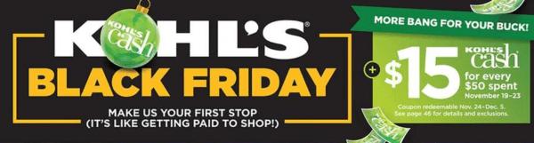25 Best Kohls Black Friday Deals For 2018 Live Now