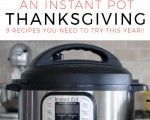 An Instant Pot Thanksgiving: 9 Recipes You Need To Try In Your Instant Pot This Year!