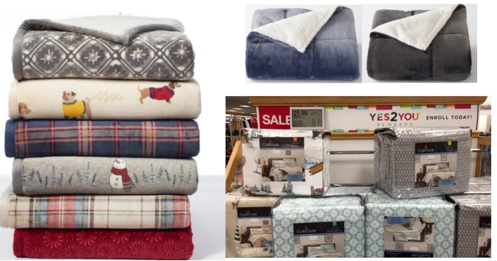 Kohls Throw Blankets Fascinating Kohl's Cuddl Duds Sale Super Soft Throw And Flannel Sheets ONLY