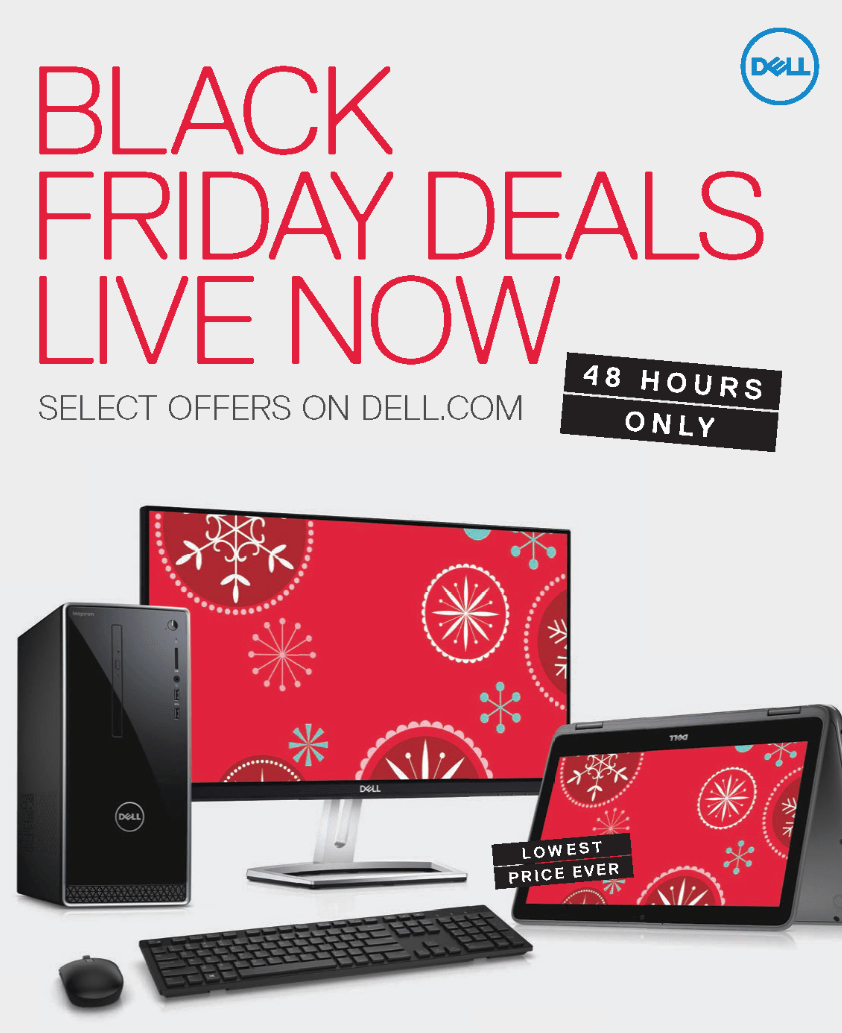 Swell Dell Black Friday Ad Preview 2017 Home Interior And Landscaping Palasignezvosmurscom