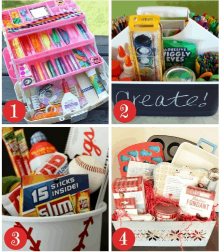 25 Days of Homemade Holiday Gifts Day 9: Gift Baskets for Kids ...