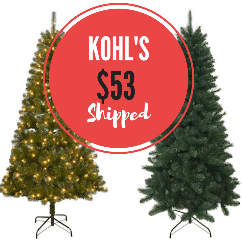 Black friday christmas tree deals 2018
