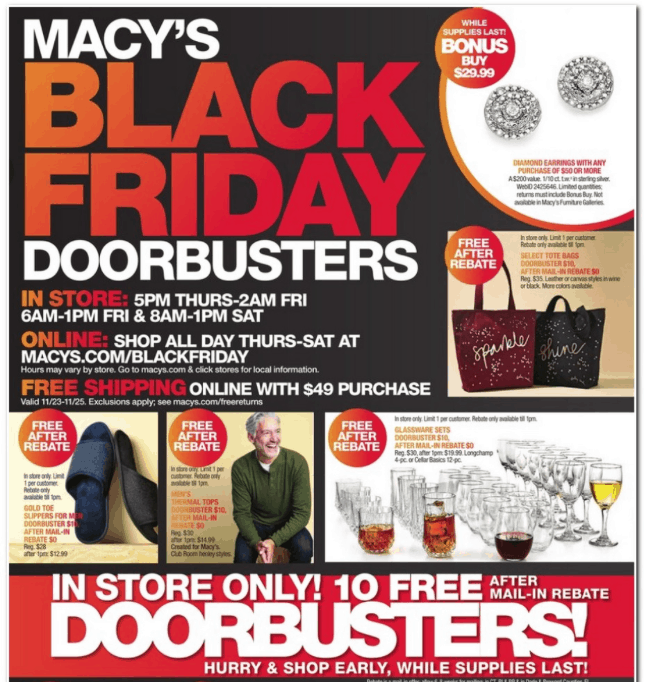 Image result for macys 2017 black friday ad