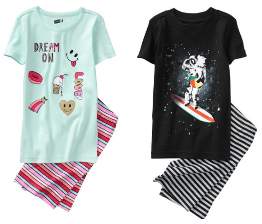 3e86a4e22 Select Shortie Pajama Sets are $5.19 – $6.79 after coupon code (sort price  low to high)