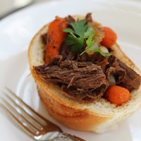 Crock-tober Day 18 - Slow Cooker Roast