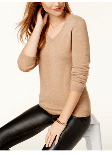 Macy's Black Friday Cashmere Sweater $39 (Reg $139) | Passionate ...
