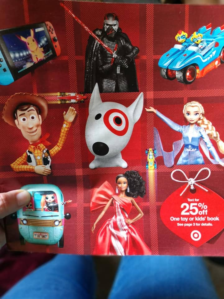 Preview the Target Toy Book Ad Scans