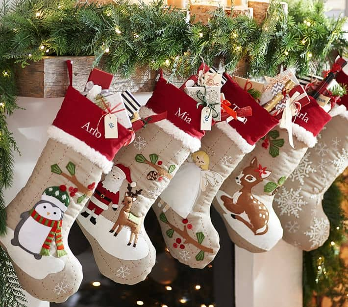 race over to pottery barn because today only you can snag christmas stockings for up to 50 off