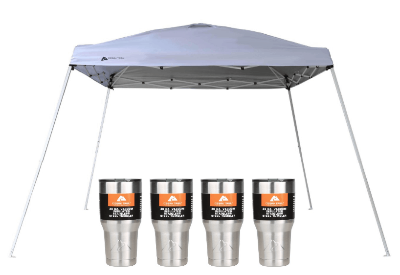 Walmart.com is offering this Ozark Trail 12×12 Instant Canopy + Four 30-Ounce Tumblers Set for just $42.76 right now! It is regularly priced around $75 ...  sc 1 st  Passionate Penny Pincher & Wal-Mart Weekly Ad Archives | Passionate Penny Pincher
