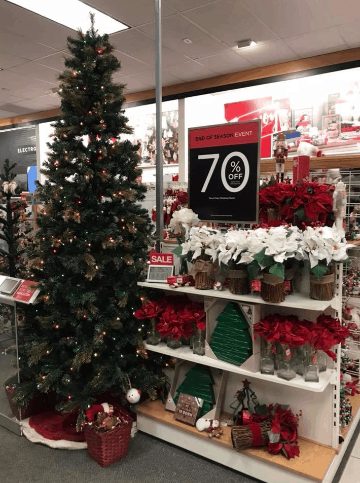 kohls up to 70 off christmas clearance