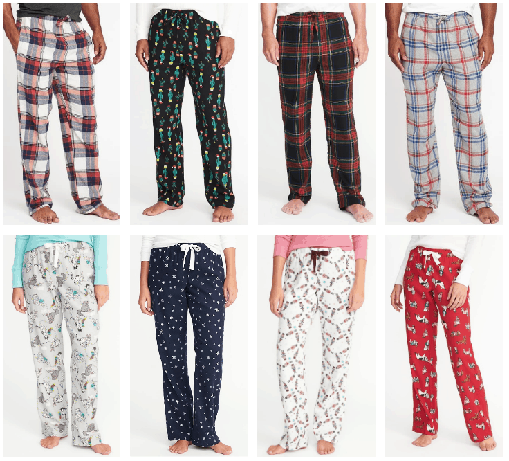 old navy free shipping 5 pj pants - Christmas Pajamas Old Navy